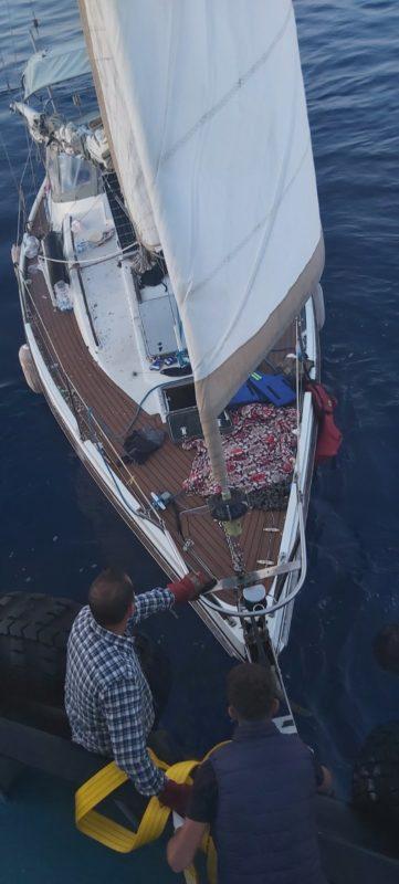 διάσωση σκάφους